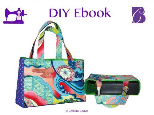 DIY Ebook Tasche Eva