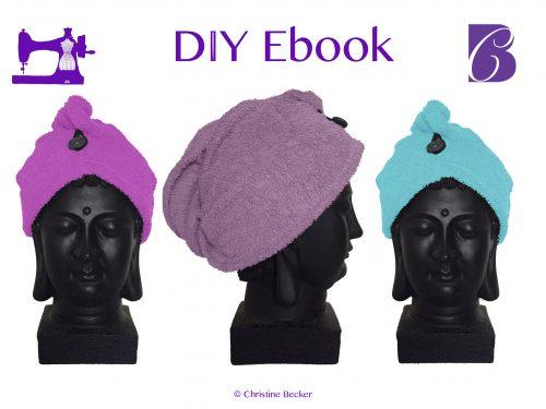 DIY Ebook Kopfhandtuch