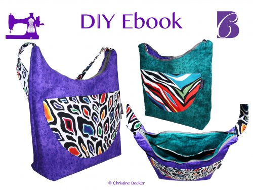 DIY Ebook Tasche Simona