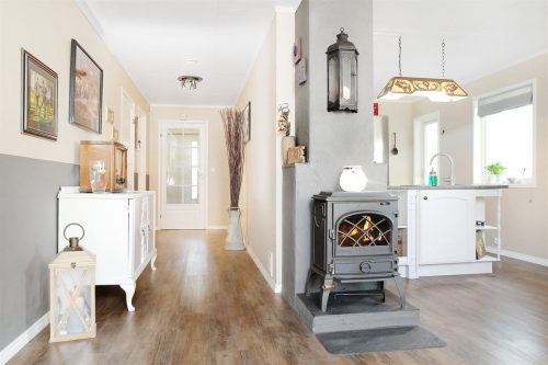 Küche und Flur neu gestaltet